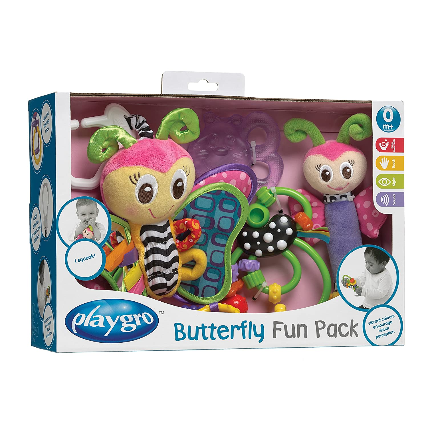 Playgro Butterfly Fun Pack by Playgro   B00H57F6WI
