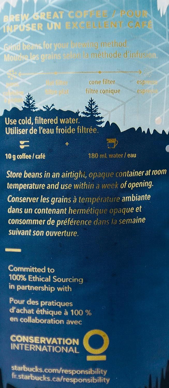 amazon com starbucks winter blend melange d u0027hiver whole bean