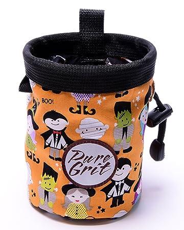 Amazon.com: Pure Grit Halloween Bolsa para gis (EE. UU ...