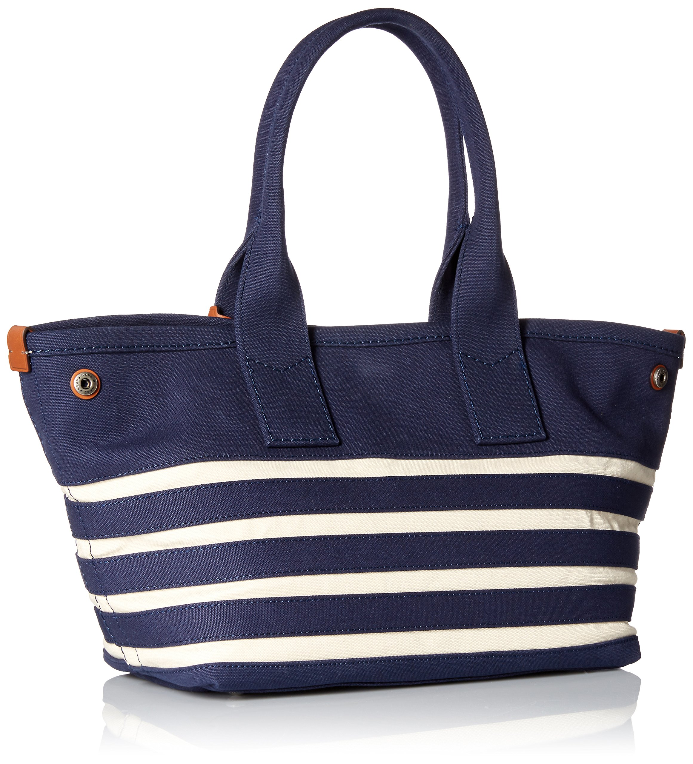 Marc by Marc Jacobs ST Tropez Tote Bag, New Prussian Blue/Ecru, One Size by Marc by Marc Jacobs (Image #2)