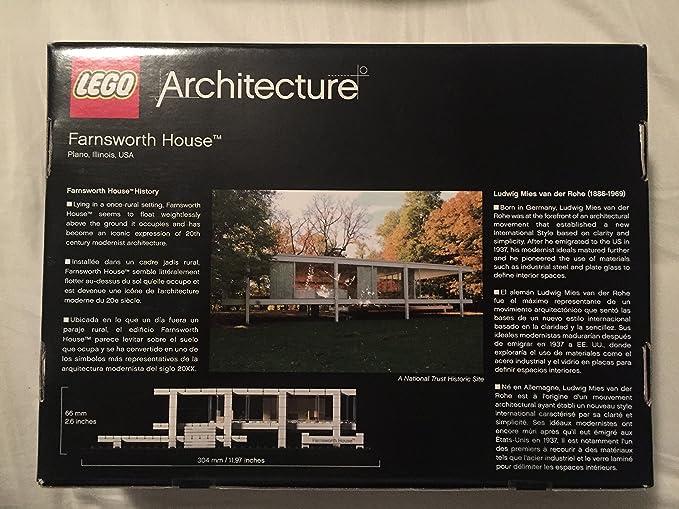 LEGO Architecture Farnsworth House 21009 (japan import): Amazon.es: Juguetes y juegos