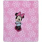 Disney Dream 大号珊瑚绒婴儿毯 米妮老鼠 30 inches x 40 inches