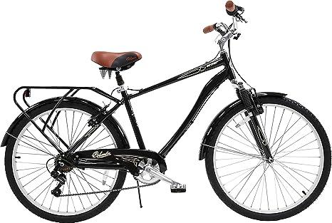 Columbia Archer Deluxe, Bicicleta híbrida Retro de 26 Pulgadas ...