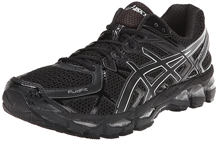 quality design 9694e 9b42a Asics - Mens Gel-Kayano 21 Shoes, UK  10.5 UK, Onyx Black Silver   Amazon.co.uk  Shoes   Bags