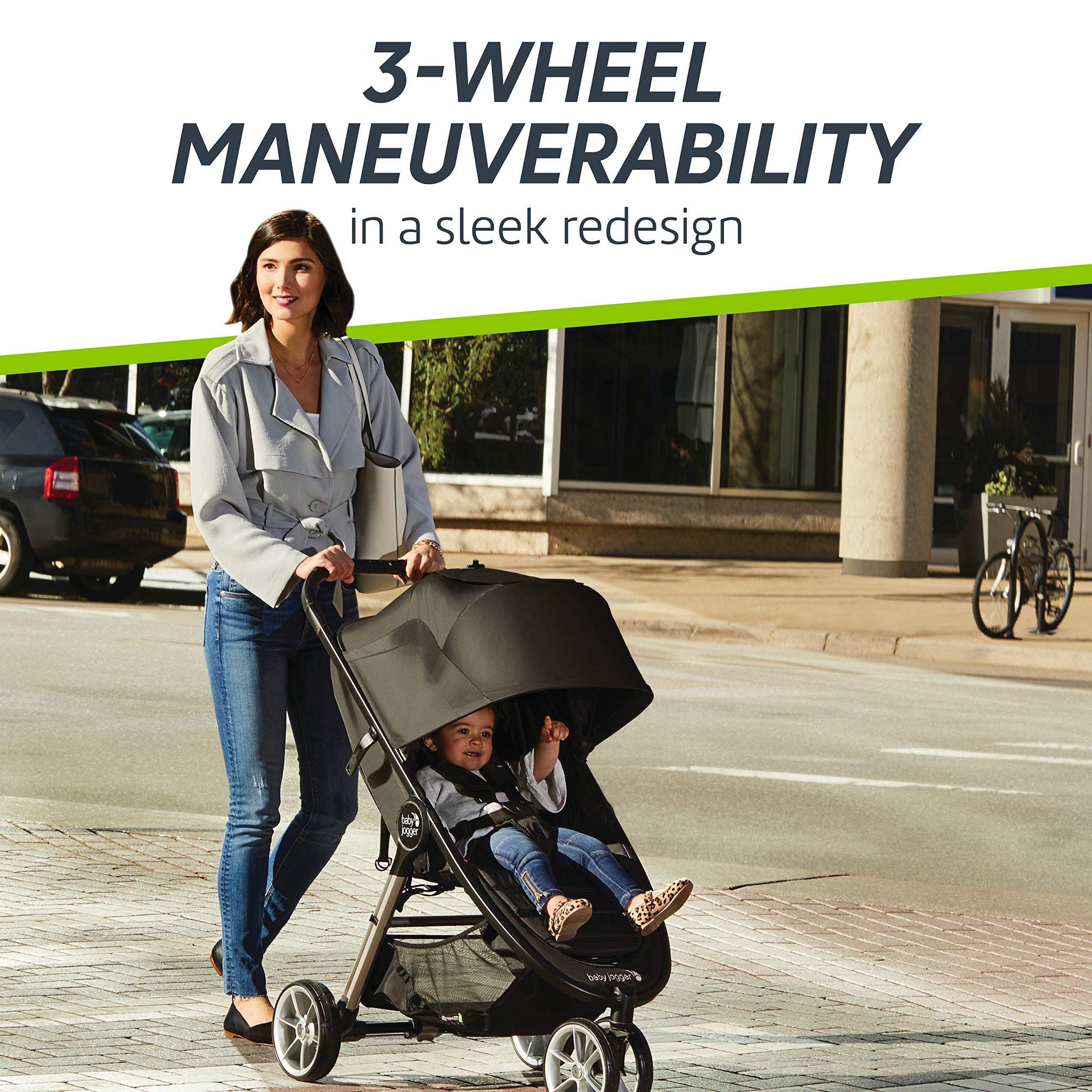 Baby Jogger City Mini 2 Stroller - 2019   Compact, Lightweight Stroller   Quick Fold Baby Stroller, Carbon by Baby Jogger (Image #3)