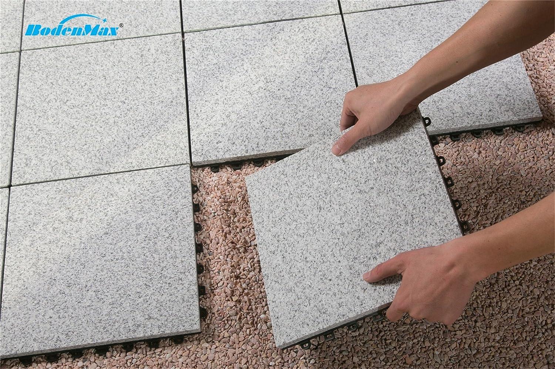 Bodenmax natural stone travertino click piastrelle per pavimenti