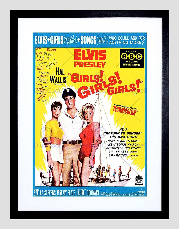 Amazon.com: MOVIE FILM GIRLS ELVIS KING PRESLEY MUSICAL COMEDY USA ...