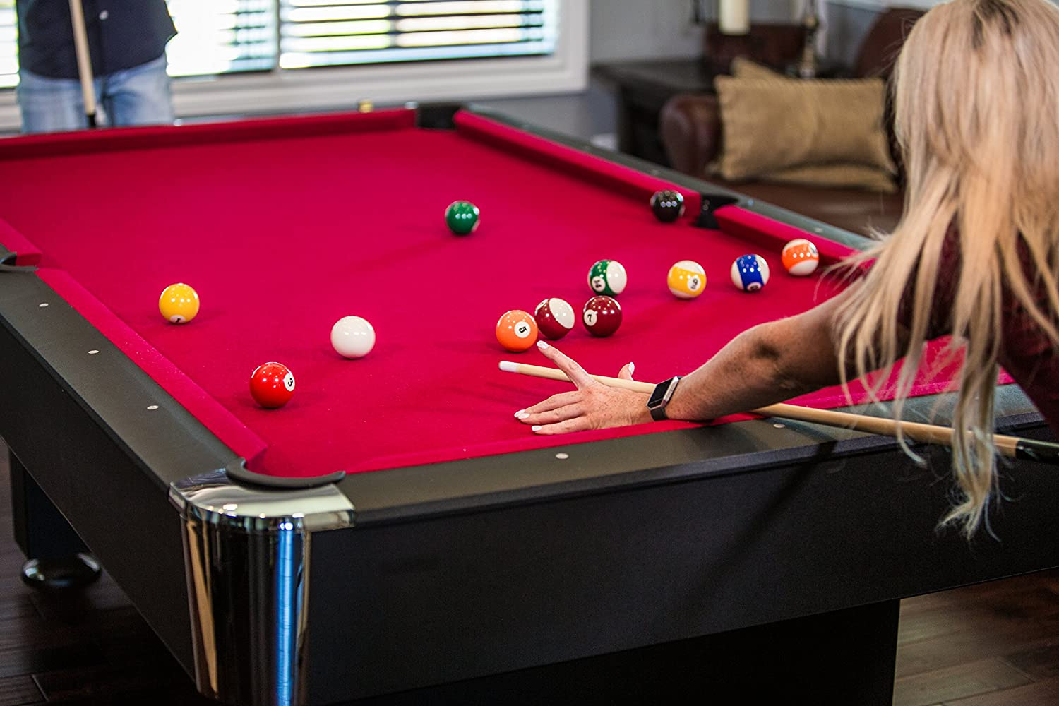 Amazon mizerak donovan ii 8 billiard table pool tables amazon mizerak donovan ii 8 billiard table pool tables sports outdoors greentooth Image collections