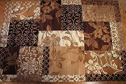 Karatcarpet tappeto moderno a pelo corto collezione oro