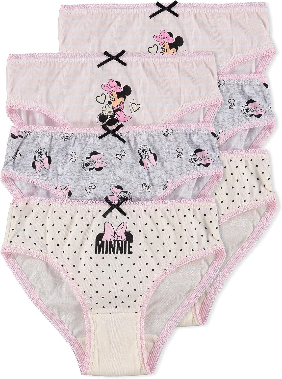 Briefs 6-Pack Disney Minnie Mouse Girls Underwear