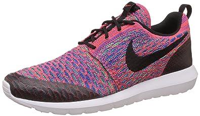best authentic bcd76 0d661 Nike Men s Roshe NM Flyknit SE Running Shoe Brght Crmsn Blk Grn Strk