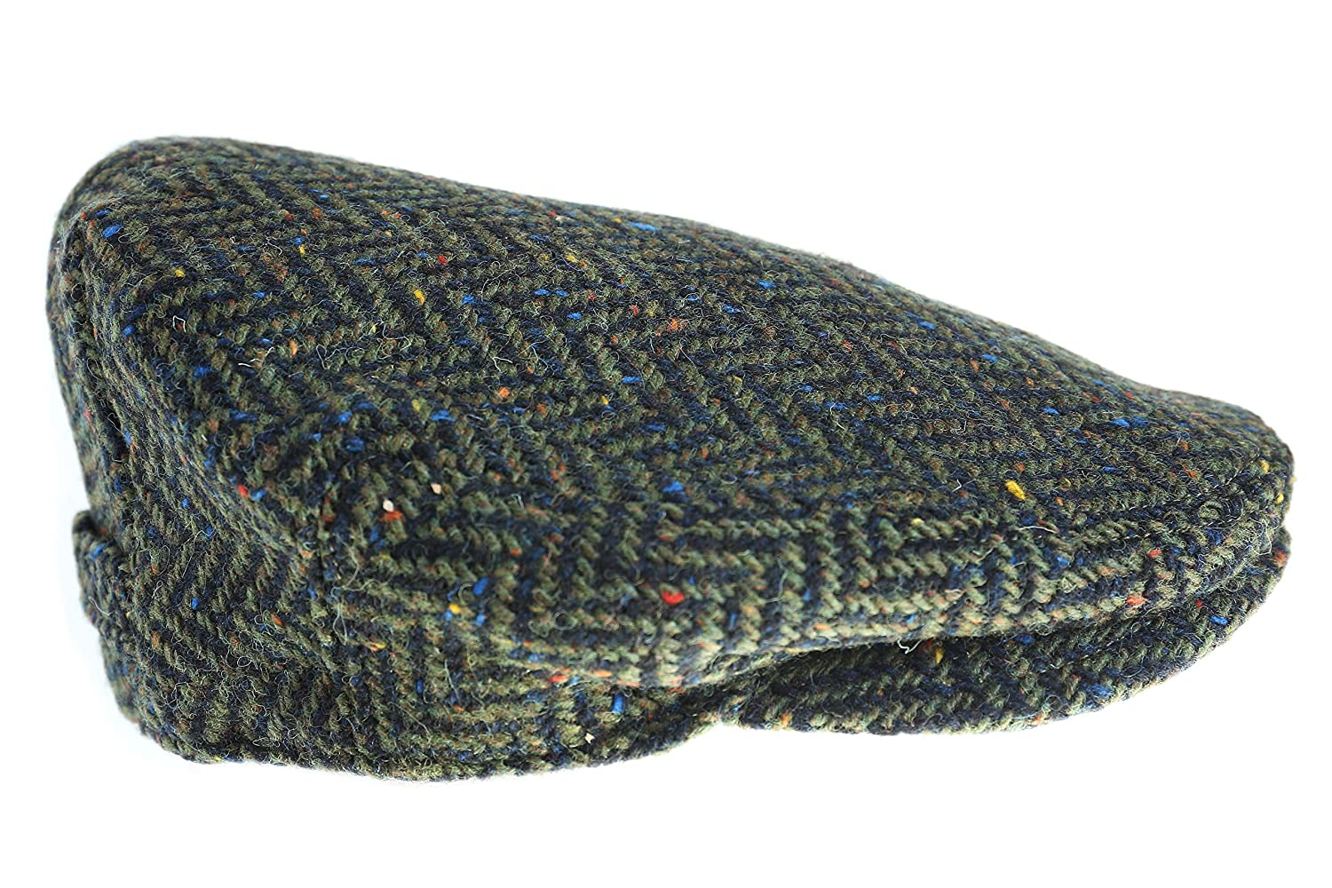 446d9ab28b8064 Biddy Murphy Men's Driving Cap 100% Tweed Made in Ireland at Amazon Men's  Clothing store: