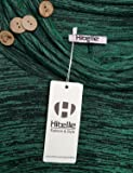 Hibelle Flowy Tops for Women Long Sleeve, Casual
