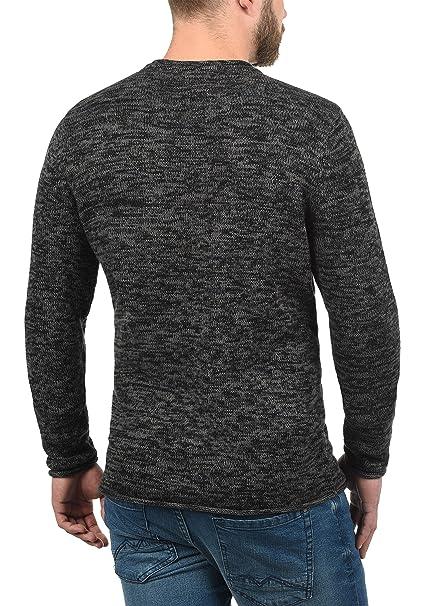 Blend Gerald Jersey De Punto Suéter para Hombre con Cuello Redondo: Amazon.es: Ropa y accesorios