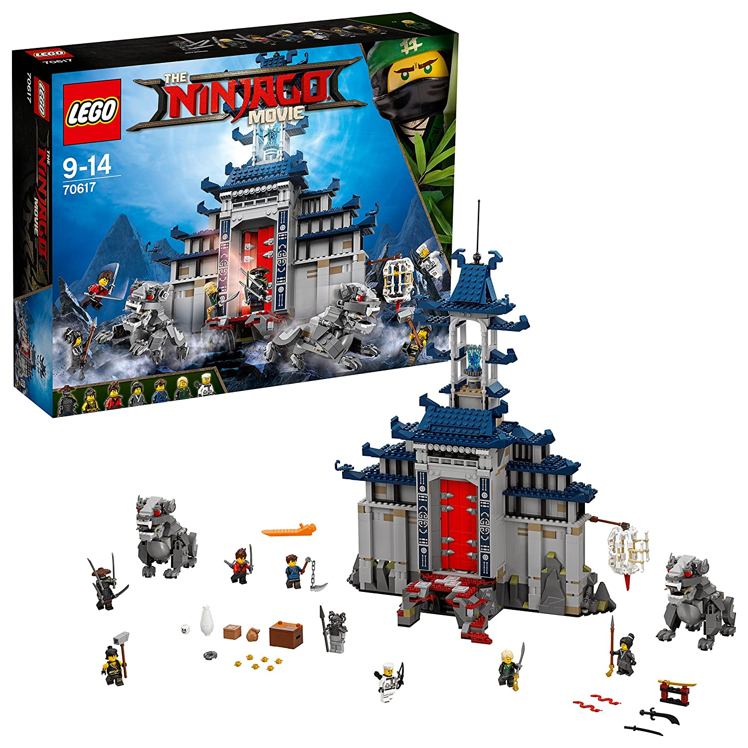 Lego Ninjago Movie 70617 Temple Of The Ultimate Weapon Toy Amazon