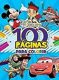 Disney. Meninos - Coleção 100 Páginas Para Colorir