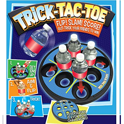Trick-Tac-Toe Bottle Flipping Game for Indoors, Tailgate or Backyard by Cortex Toys: Toys & Games [5Bkhe1004701]