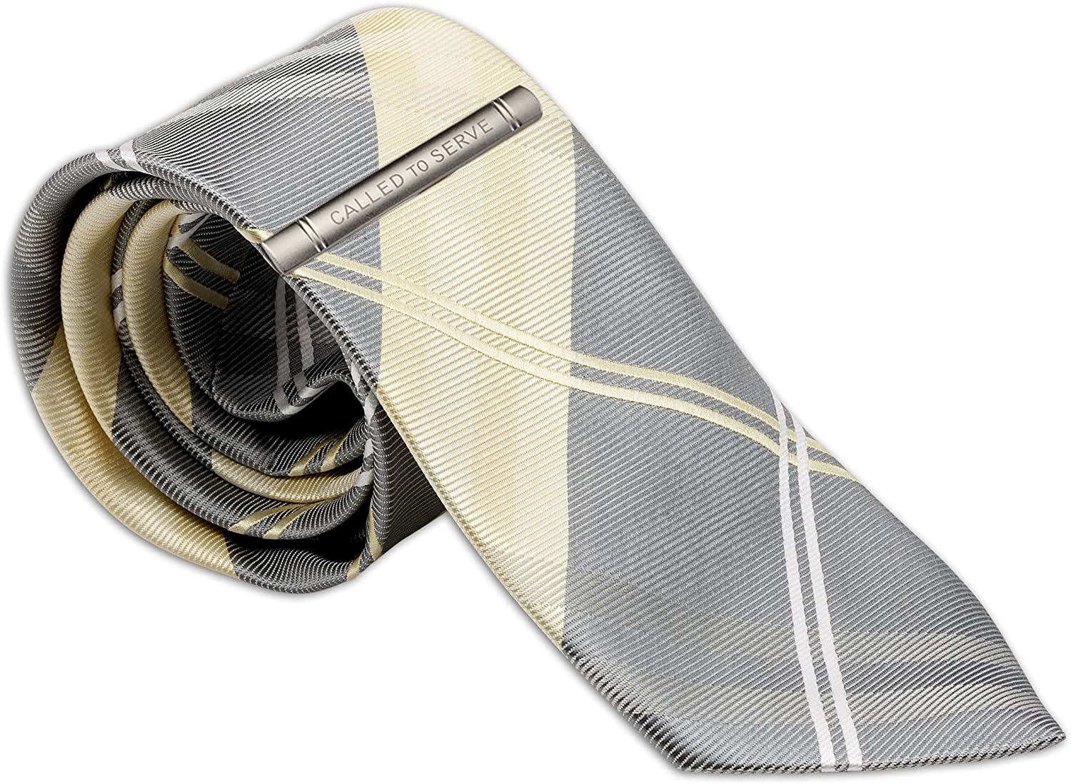 """Mens Tie andCalled to Serve Tie Clip for LDS Missionary 58/"""""""