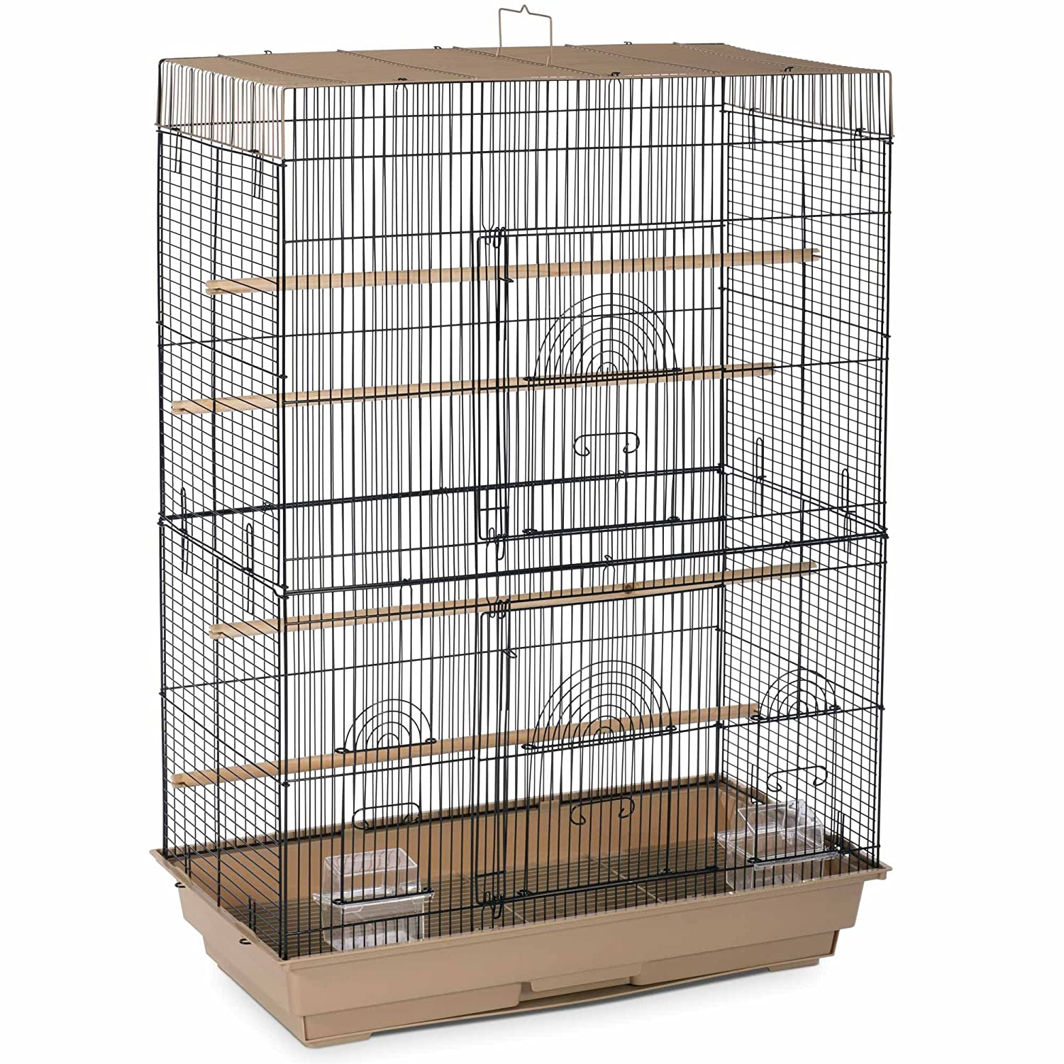 Prevue Pet Products SP42614-4 Flight Cage Brown and Black