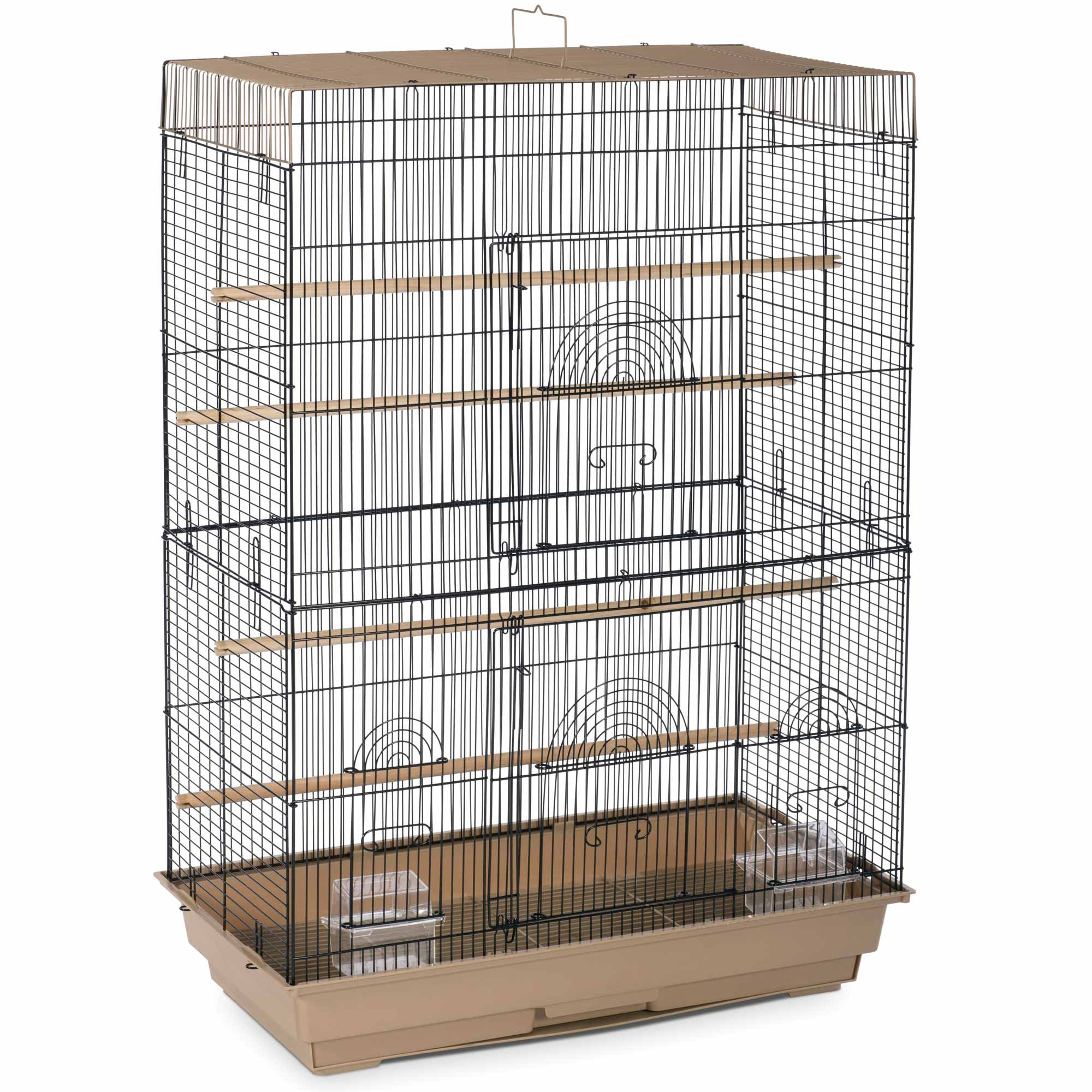 Prevue Pet Products SP42614-4 Flight Cage, Brown/Black by Prevue Pet Products