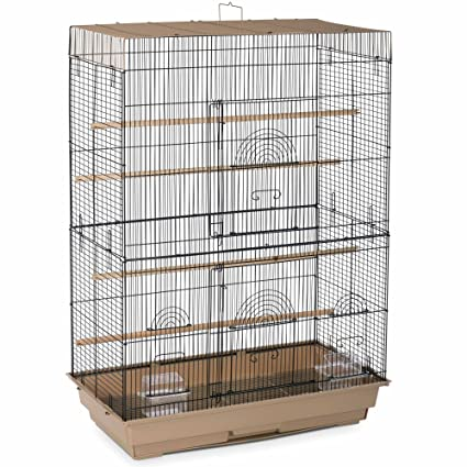 watch 1031f 0be4e Prevue Pet Products SP42614-4 Flight Cage, Brown Black