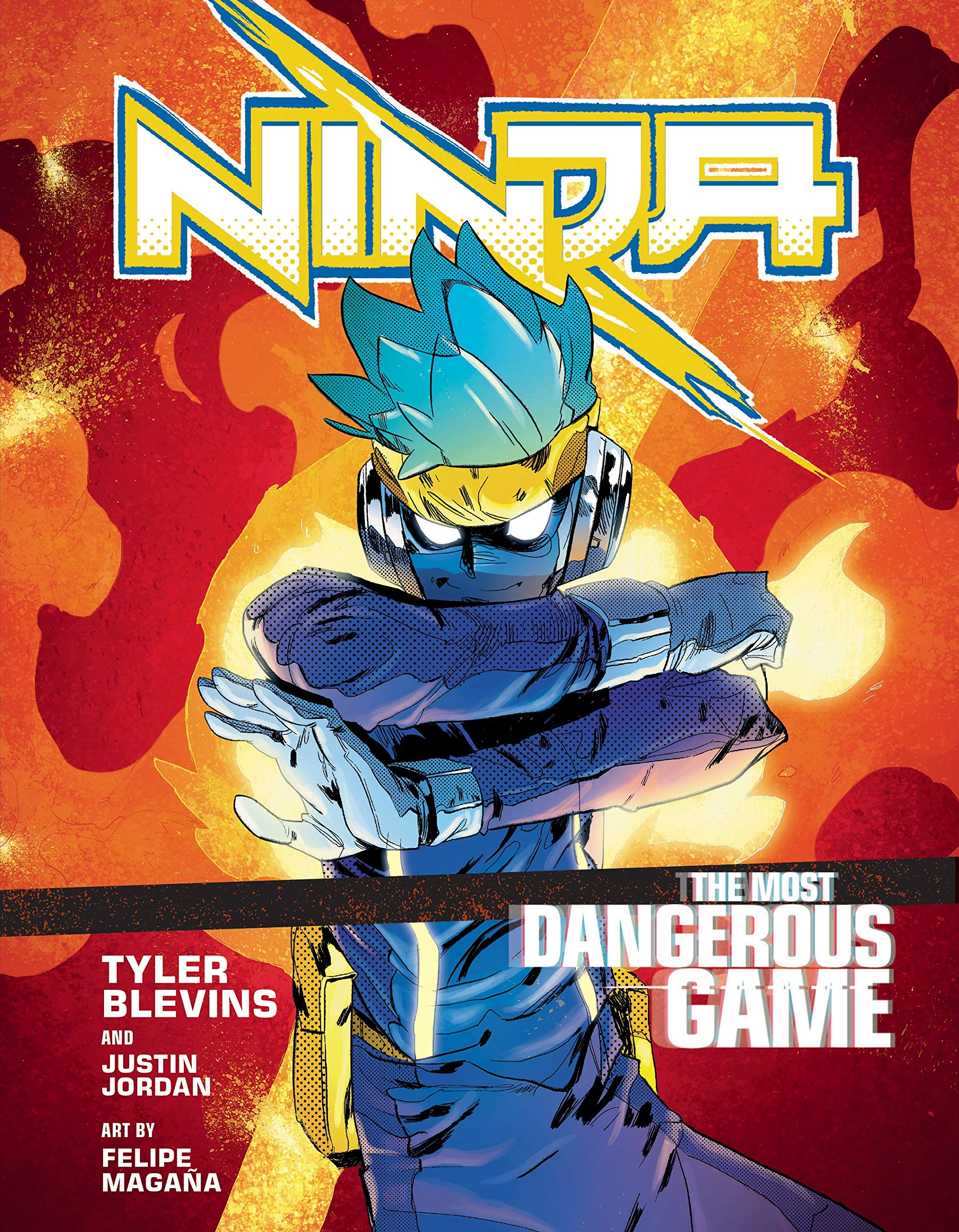 Ninja. The Most Dangerous Game A Graphic Novel: Amazon.es ...