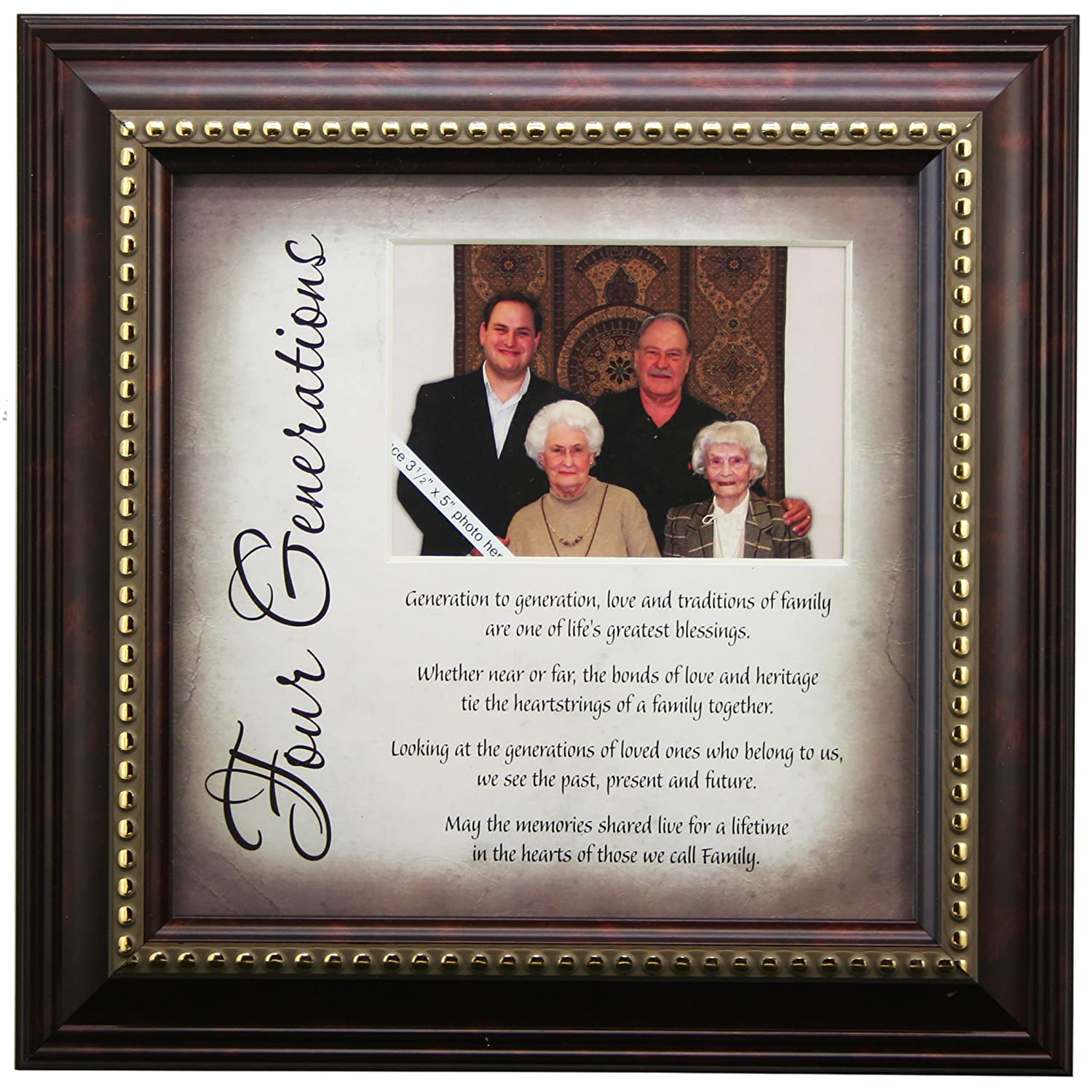 Amazon.com: 4 Generations Frame and Poem - Gift for Great ...