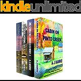 Cedar Ridge Chronicles Books 1-4 Boxed Set: Inspirational Historical Western Romance