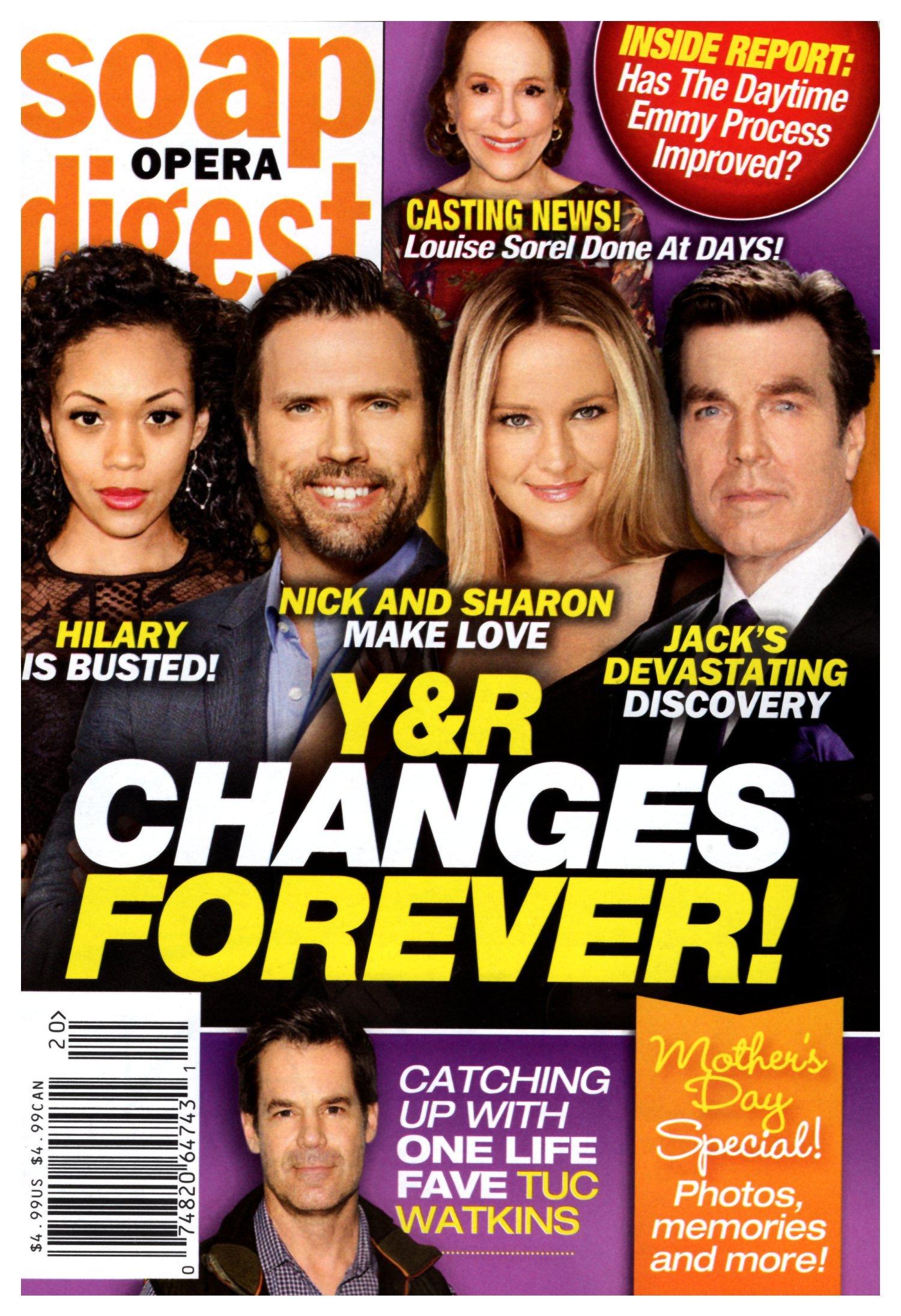 Download Soap Opera Digest Magazine - May 14, 2018 - Mishael Morgan, Joshua Morrow, Sharon Case & Peter Bergman (Young & the Restless) PDF