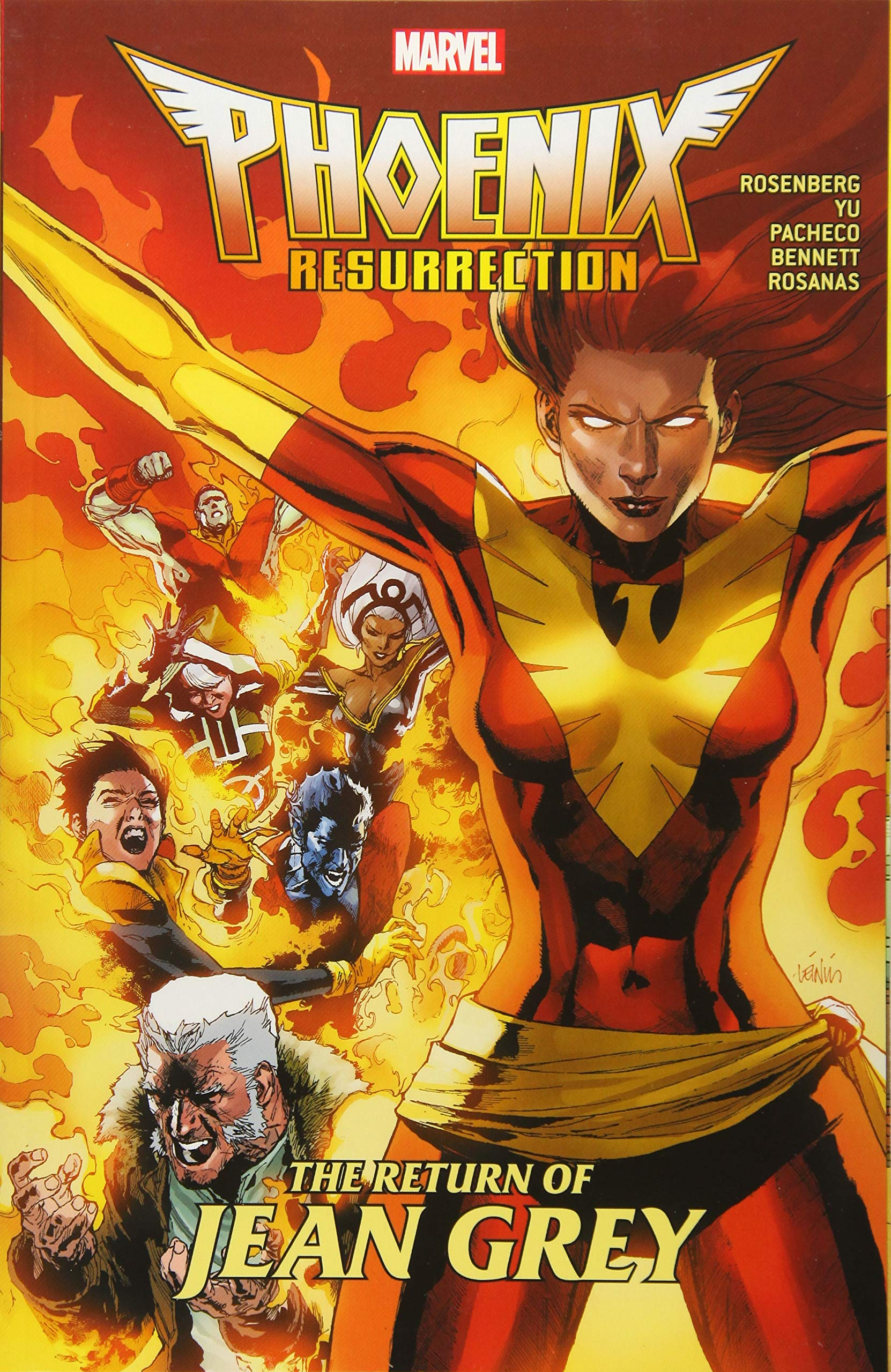 「Phoenix Resurrection: The Return of Jean Grey」的圖片搜尋結果
