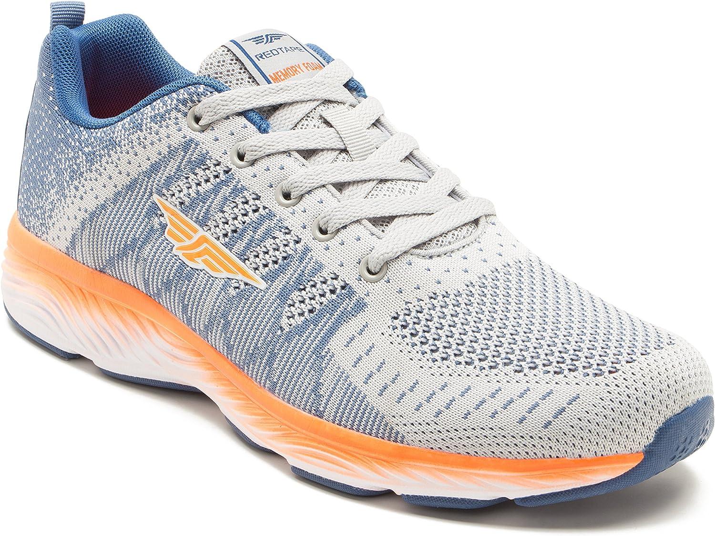 Red Tape - Zapatillas de Running para Hombre Gris Gris, Color Gris, Talla 44: Amazon.es: Zapatos y complementos