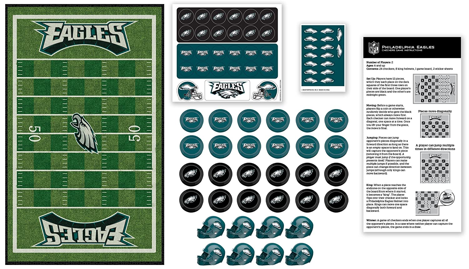 NFL Favorite Team Checkers
