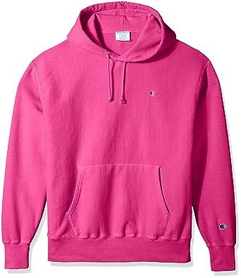 amazon com champion life men s reverse weave pullover hoodie clothing