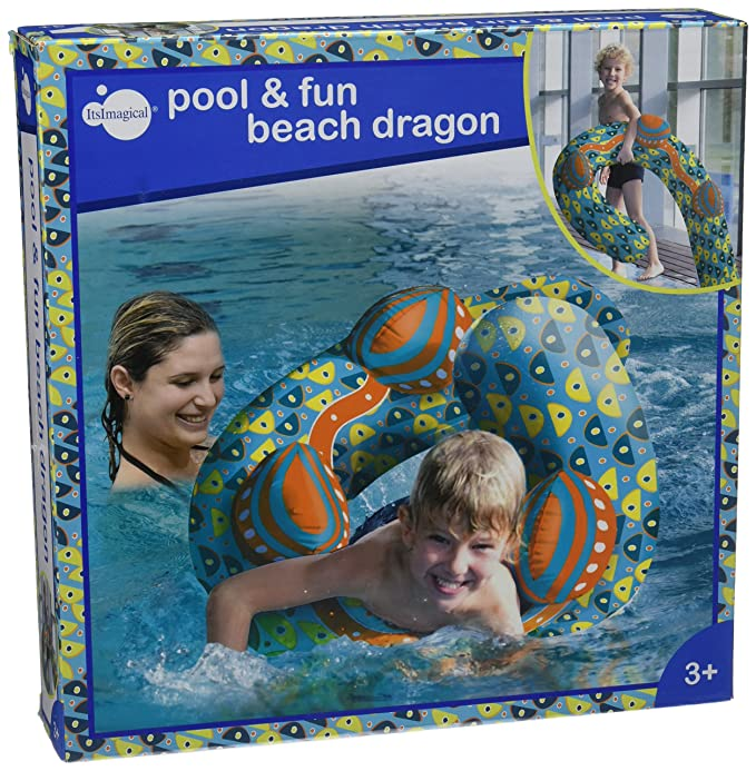 itsImagical - Pool & Fun Beach Dragon, colchoneta con Forma de ...
