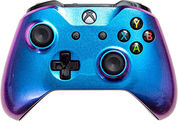 Microsoft Xbox One Series XS Rapid Fire Modded Controller-Red Shadow wRed LED