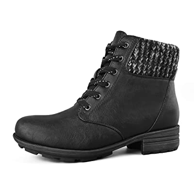 Comfy Moda Women's Wool-Lined Insulated Winter Boots Hunter | Snow Boots