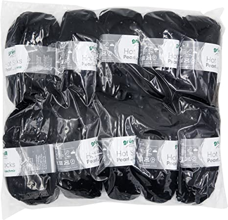 Gr/ündl 3409/ Prugna /05/Hot Socks Pearl Tinta Unita 40/x 37/x 11/cm 20/% Poliammide 5/% Cachemire Confezione Risparmio 10/gomitoli da 50/G Calzini Lana 75/% Lana Merino Superwash
