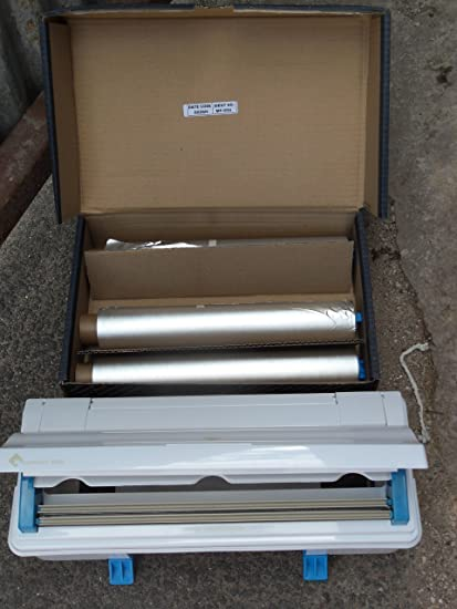 WRAPMASTER 4500 18 cm FILM TRANSPARENTE Dispensador, rellenable & 3 rollos de film transparente,