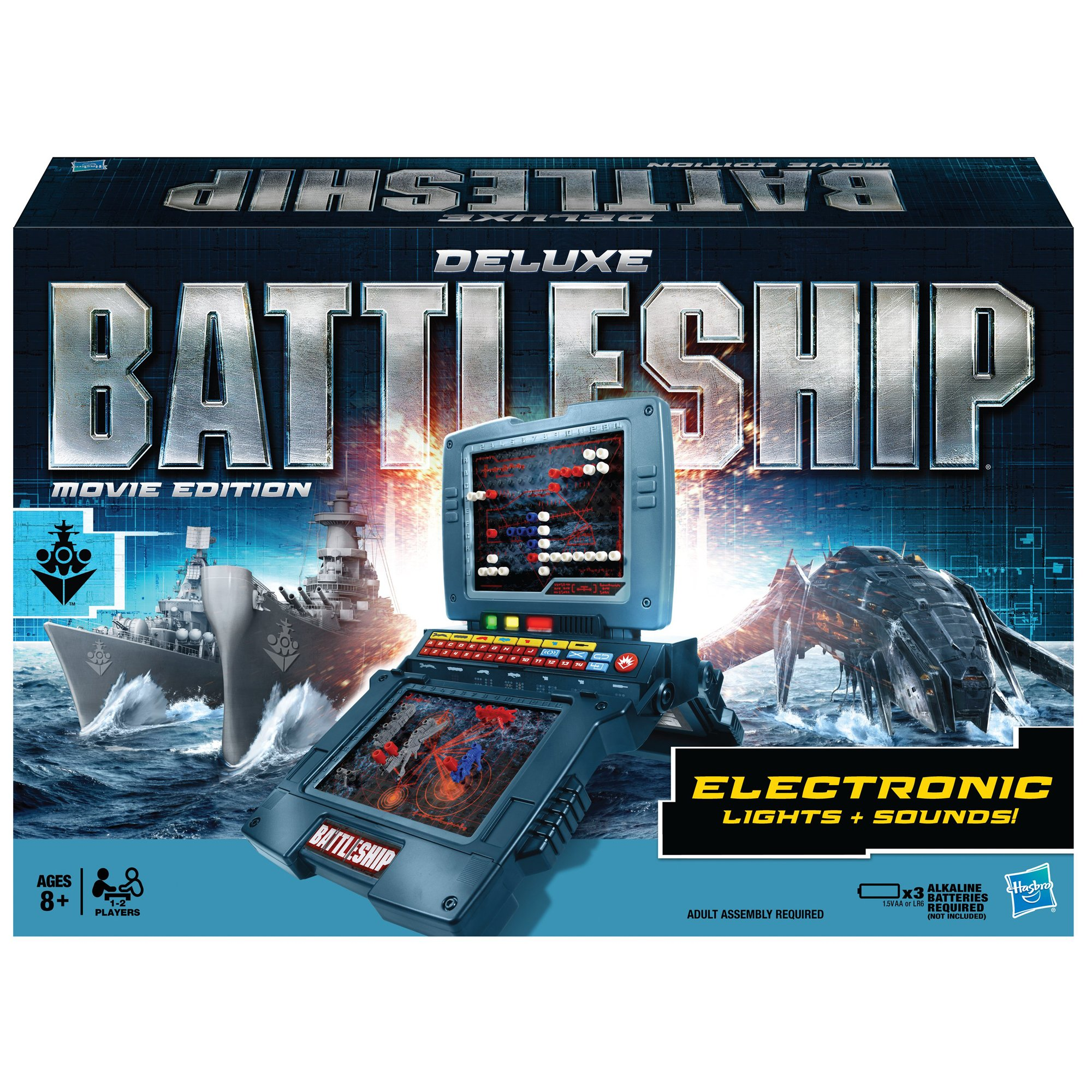 Deluxe Battleship Movie Edition by Hasbro