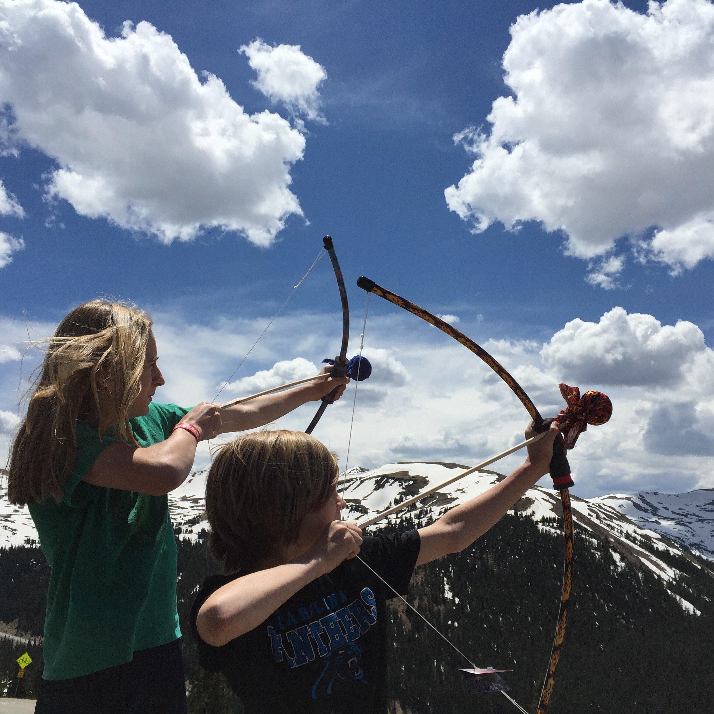 Two Bros Bows Safari Archery Combo Set