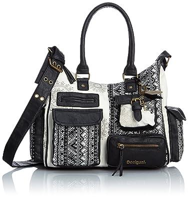 ee473f7c19 Desigual Tasche London Medium Art Damen - 50X50B7-2000-U  Amazon.de ...
