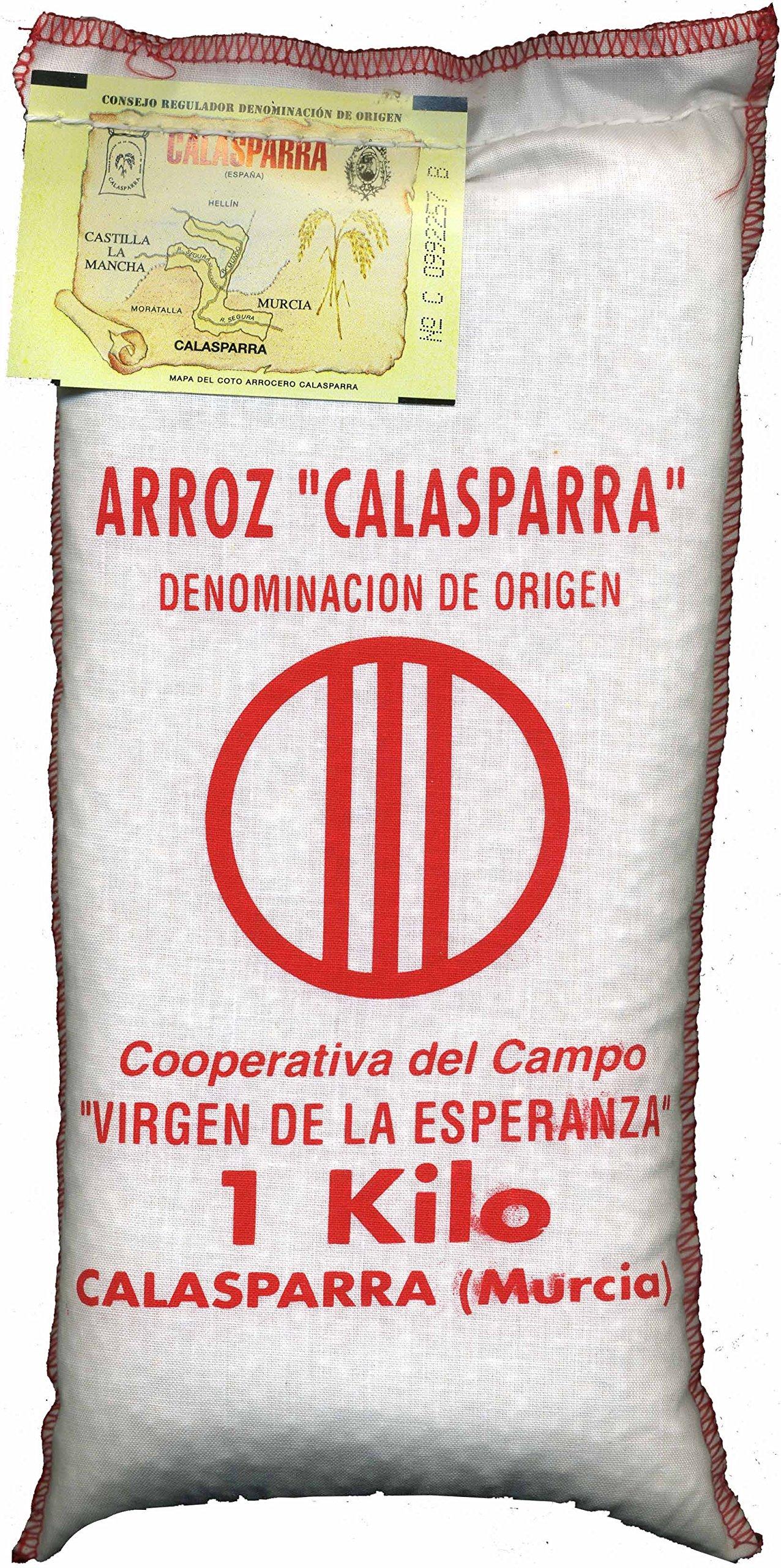 Calasparra Rice (Paella Rice) - 1 bag, 1 Kg