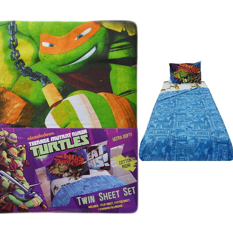 Amazon.com: 3-pc individual Hoja de cama Set: Nickelodeon ...