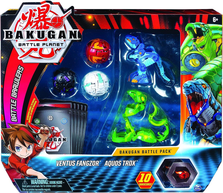 aurelus Dragonoid Collectible Action... Bakugan 6055457 Starter Pack 3-Pack