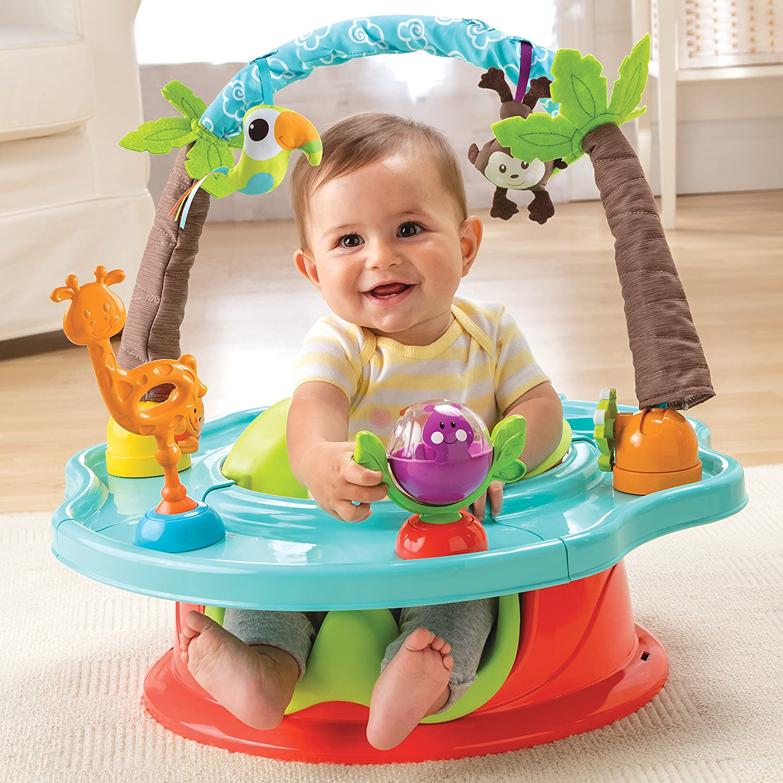 Summer Infant Deluxe Super Seat Wild Safari Neutral Amazon