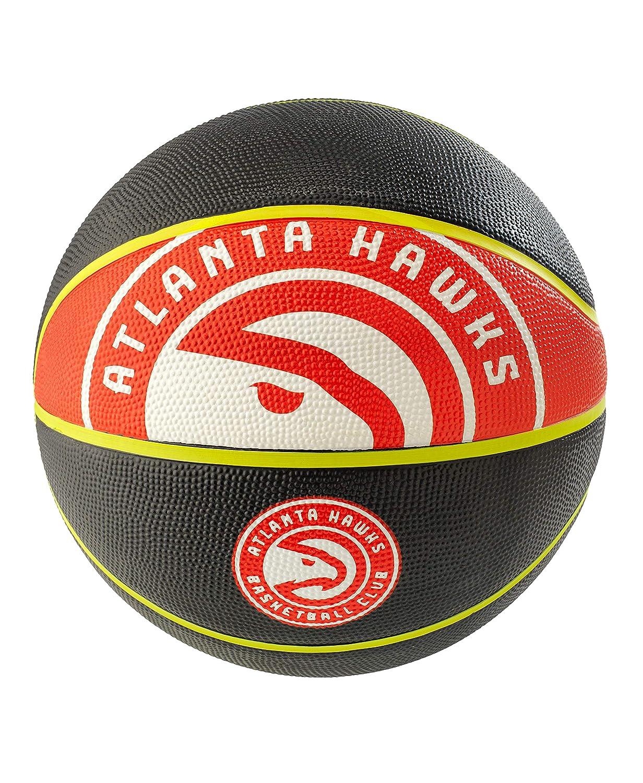 NBA Atlanta Hawks Spaldingteam Logo, Black, 29.5