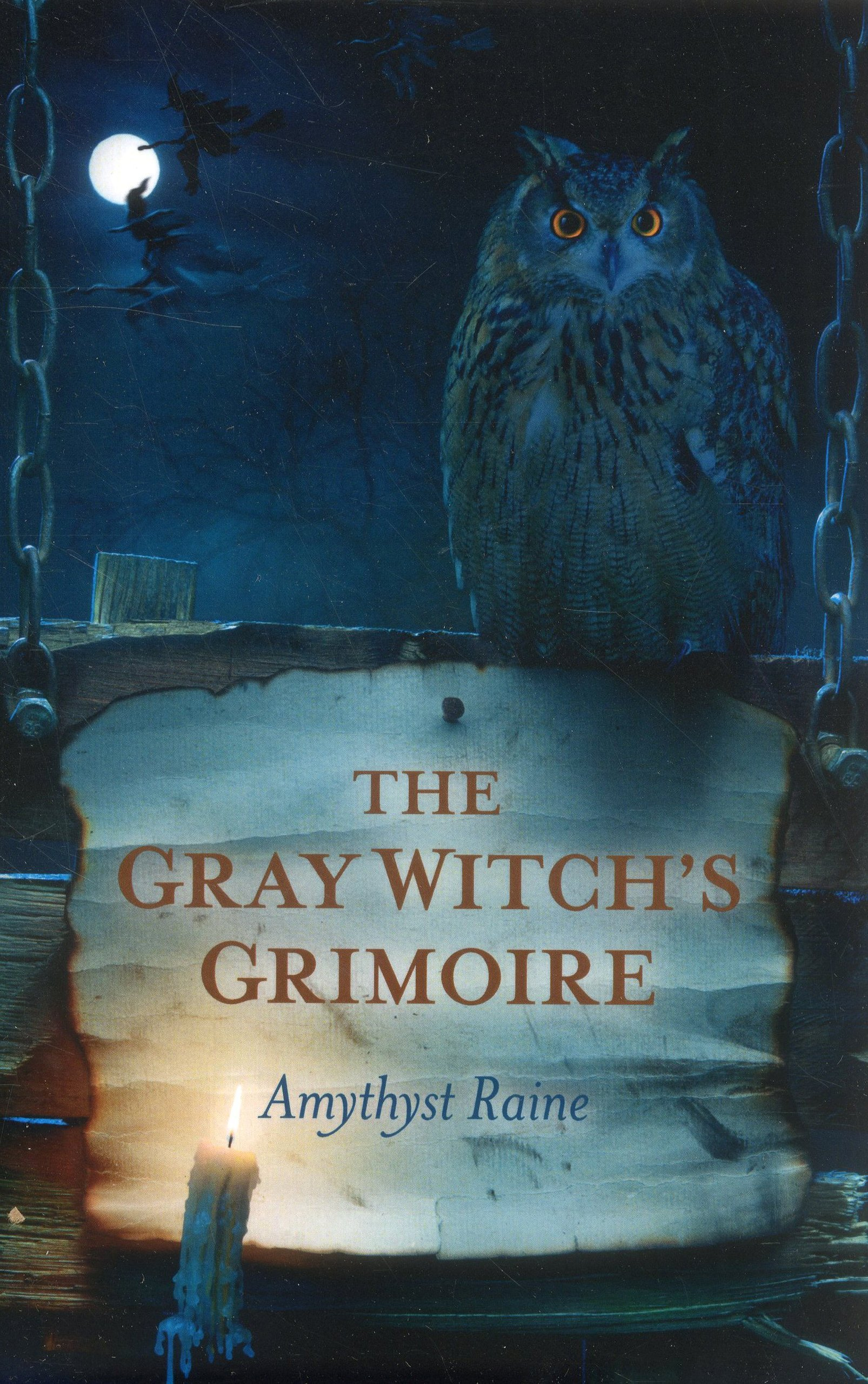 Gray Witchs Grimoire Amythyst Raine product image