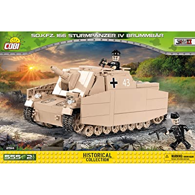 COBI Historical Collection SD.Kfz. 166 Sturmpanzer IV Brummbar Tank: Toys & Games
