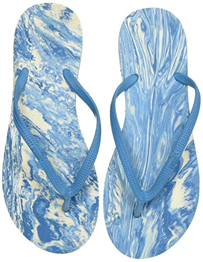 Puma Women's First Flip Platform Marble Idp Flip-Flops and House Slippers Flip-Flops & Slippers at amazon