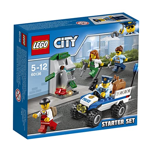 12 opinioni per LEGO City 60136- Set Costruzioni Starter
